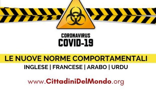 Informazioni legali importanti sul coronavirus
