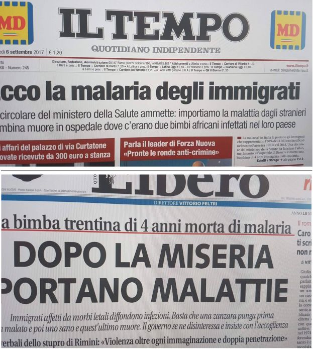Malaria e ignoranza